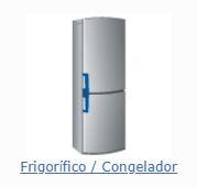 Peças e acessórios frigorifico e congelador