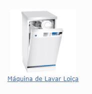 Peças e acessórios maquina lavar loiça