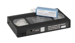 Cassete Limpeza Video VHS